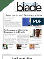 Washingtonblade.com - Volume 44, Issue 36 - September 6, 2013