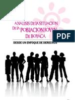 Análisis Situacional de la Población Joven Boyacense
