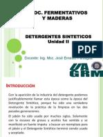 Detergentes 2012