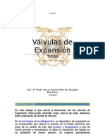 Valvulas de Expansion TIPOS