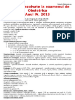 Subiecte Rezolvate Examenul Obstetrica 2013 by Med(1)