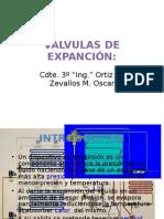 Valvulas de Expandion TIPOS