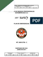 Plan Emergencias - Universidad Libre 2011-2012
