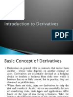 Ntroduction to Derivatives