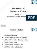 New models of business in society