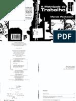 Pochmann - Metrópole do Trabalho