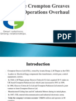 TheCrompton Greaves Operations Overhaul_final.ppt