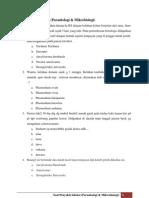 Soal Penyakit Infeksi (Parasitologi & Mikrobiologi)(1)