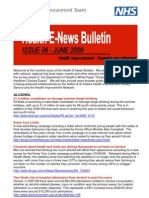 Health e-news June 09 Bulletin