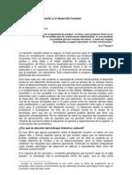 Fariñas-Los retos de la educación y el desarrollo humano