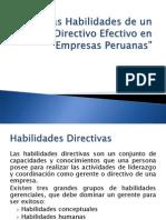 Expo Final - Las Habilidades de Un Directivo Efectivo[1]