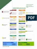 Calendario curso 2013-14