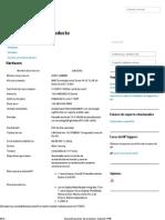 Especificaciones del producto _ Soporte HP®