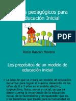Criterios pedagógicos para la Educación Inicial