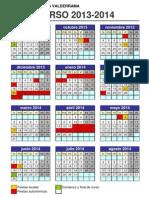 Calendario 2013_2014 - CEIP José Ortega Valderrama de Pradejón