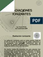 Presentación RADIACIONES IONIZANTES
