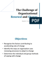 The Challenge of Organizational Development (Intro)