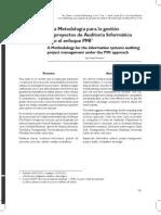 Metodologia Auditoria PMI