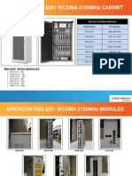Ericsson RBS 6201 WCDMA 2100MHz Cabinet