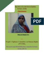 Testimony of Munni Devi