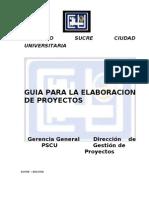 Guia Presentacion Proyectos Pscu Ultimo