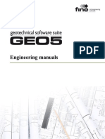 Geo5 Engineering Manuals