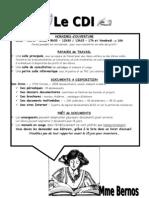 Carnet d'accueil du CDI pour les enseignants