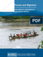 SPDC Abuse; Poverty and Migration