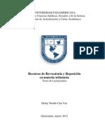 1279 Recursos de Revocatoria y Reposicion en Materia Tributaria