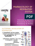 Pharmacology of Respiratory System