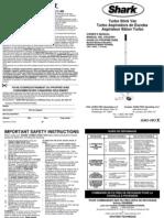 Shark Stick Vac EP600BL Manual