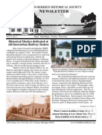 Fall 2013 Newsletter - North Berrien Historical Society