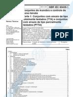NBR-IEC 60439-1 Painéis TTA e PTTA