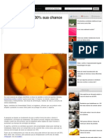 Como reduzir em 30% sua chance de ter câncer