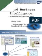 Asug 2001 QM and Business Intelligence