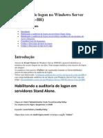 Auditoria de Logon No Windows Server 2008 R2