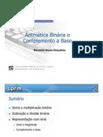 AULA6 Aritmetica Binaria Compl