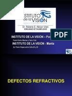 DEFECTOS REFRACTIVOS-NUEVO.ppt