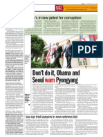 thesun 2009-06-18 page08 dont do it obama and seoul warn pyongyang