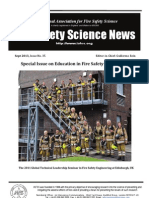 Fire Safety Science News #35 - September, 2013