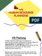 HR Planing
