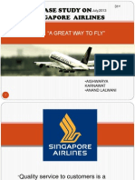 Singapore Airlines Consumer Satisfaction