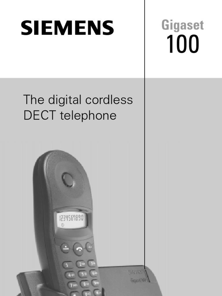 gigaset 100 electrical connector telephony equipment rh scribd com siemens gigaset 100 user manual siemens gigaset 100 service manual