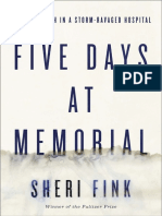 Five Days at Memorial by Sheri Fink - Excerpt