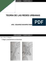 Teoria de Las Redes Urbanas