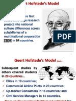 Geert HofstedeGÇÖs Model