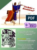 XV Domingo Do Tempo Comum _ Discipulos e Missionarios