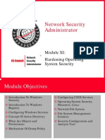 Module 11 - Hardening Operating System Security