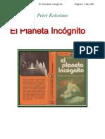 Kolosimo, Peter - El planeta incógnito (((())))
