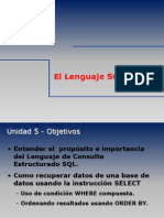 El Lenguaje SQL (DML - Subconsultas)